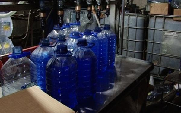 Изготовление омывающей жидкости